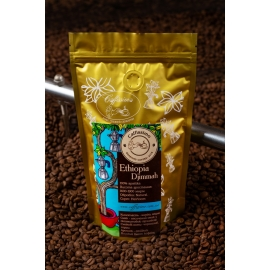 Свежеобжаренный кофе в зернах Эфиопия Джимма
