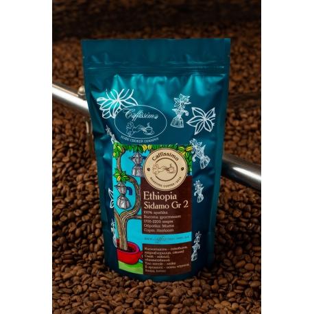 Кава в зернах Ефіопія Сидамо Gr.2