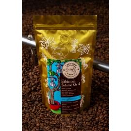 Свежеобжаренный кофе в зернах Эфиопия Сидамо Gr.4