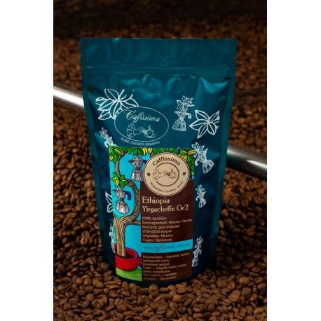 Кофе в зернах Эфиопия Ethiopia Yirgacheffe. Gr. 2