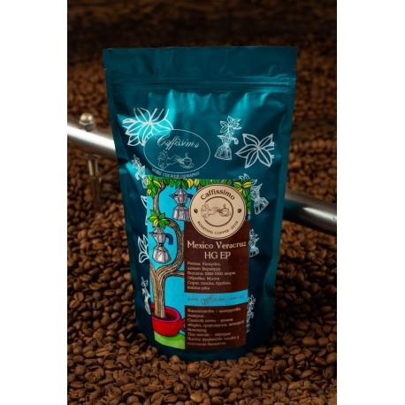 Свіжеобсмажена кава в зернах арабіка Мексика HG EP Veracruz