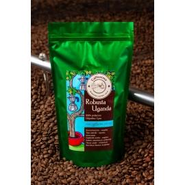 Свіжеобсмажена кава в зернах Робуста Уганда