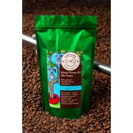 Свежеобжаренный кофе в зернах робуста Вьетнам голубой дракон