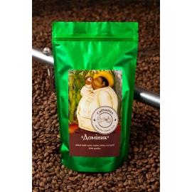 Свежеобжаренный кофе в зернах бленд арабики Доминик