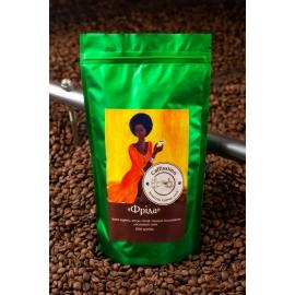 Свежеобжаренный кофе в зернах бленд Фрида