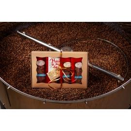 Подарунковий набір кави в зернах арабіка №1