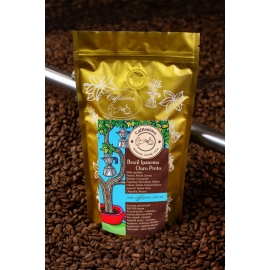 Свіжообсмажена кава в зернах арабіка Бразилія Ipanema Ouro Preto
