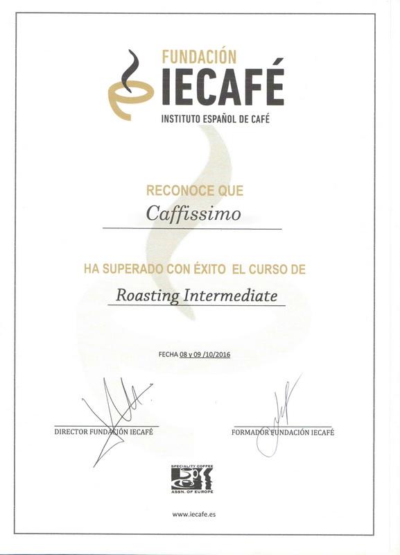 диплом обжарка кофе